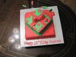 Andrea's 16th Birthday cake.